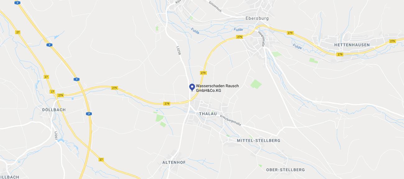 Wasserschaden Rausch Fulda Bad Brückenau