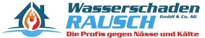 Wasserschaden Rausch Logo
